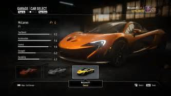 need for speed rivals new cars need for speed rivals all fully upgraded racer cars