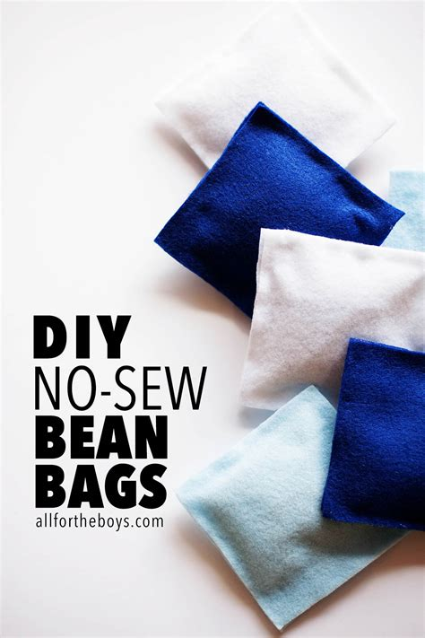 photo bean bag diy diy no sew bean bags all for the boys