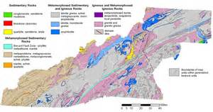 geology overview western carolina vitality index
