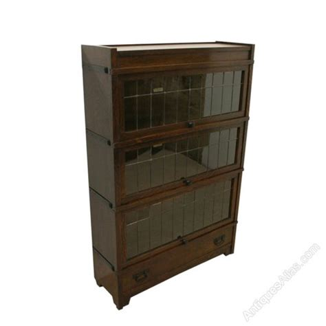 Globe Wernicke Sectional Bookcase by Globe Wernicke Oak Sectional Stacker Bookcase Antiques Atlas