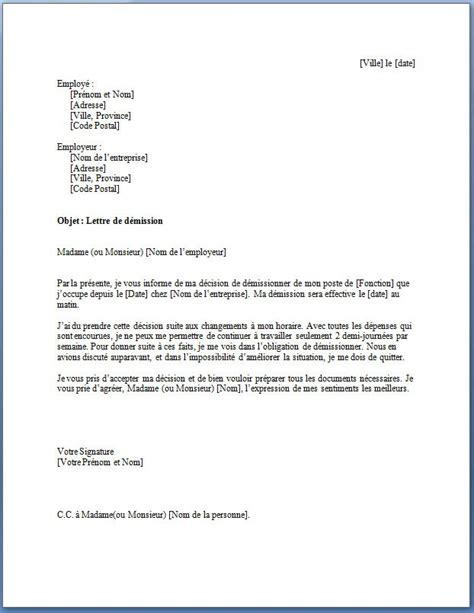Modele De Lettre Administrative Gratuite Pdf