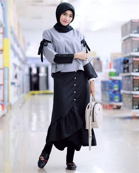 Jilbab Keren Dan Modis 17 trend fashion modis 2018 untuk remaja masa kini