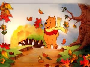 winnie the pooh thanksgiving wallpaper disney fall wallpaper wallpapersafari