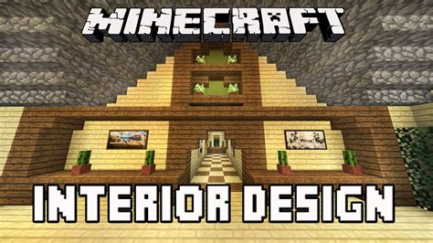 minecraft home design youtube minecraft tutorial awesome interior house design tips