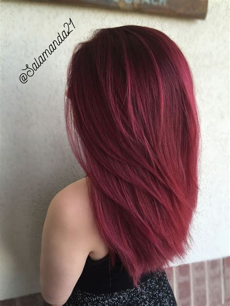 wine hair color best 25 wine colored hair ideas on wine hair