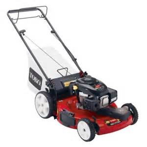 lawn mower in home depot toro recycler 22 in high and front wheel drive variable