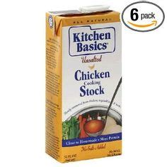 Kitchen Basics Vegetable Stock Ingredients by Low Sodium Meals On