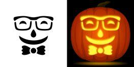 face pumpkin carving patterns