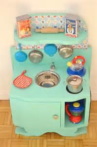 diy une cuisine enfant vintage 224 petit prix