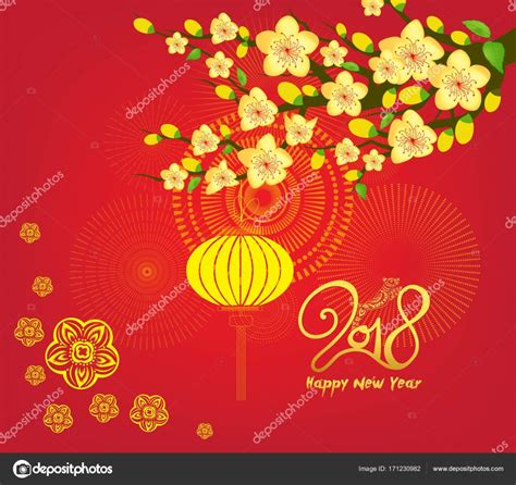 new year 2018 china highlights happy new year 2018 greeting card and new year of