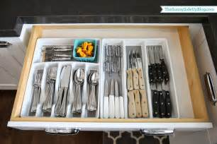 Log Dining Room Sets organized kitchen utensil drawer the sunny side up blog
