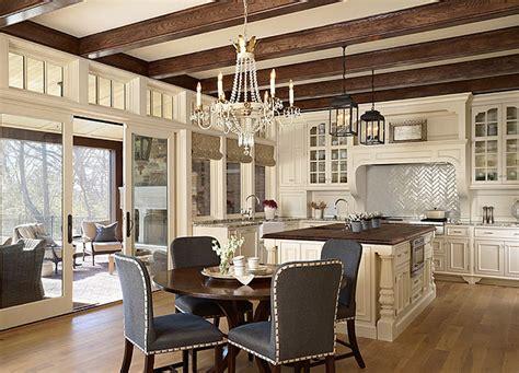 elegant home interior белая кухня фото