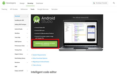 Download Android Studio And Sdk Tools Android Developers | androidアプリ開発環境の構築 android studioのインストールなど 自由奔放気の向くままに
