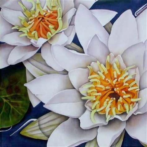 Leonard Batik the o jays squares and lilies on