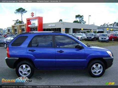 blue kia sportage 2006 kia sportage blue 200 interior and exterior images