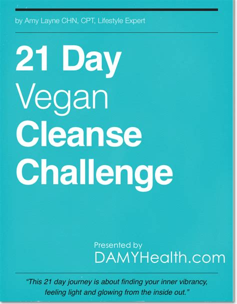 21 Detox Challenge by The 21 Day Vegan Cleanse Challenge