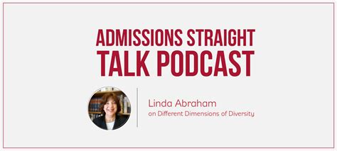 Mba Admission Podcast by Different Dimensions Of Diversity Episode 193