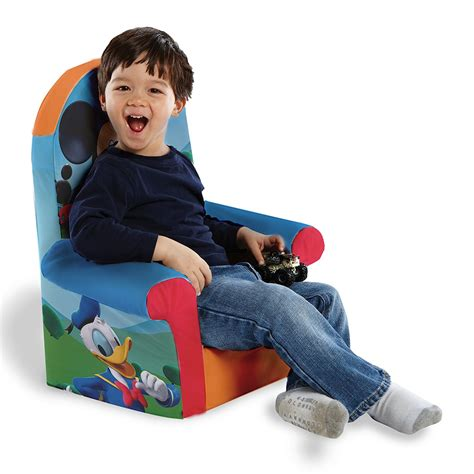 Mickey Mouse High Back Chair by Marshmallow Furniture Children S Foam High Back Chair