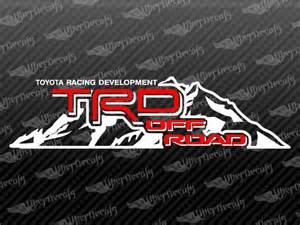 Toyota Truck Decals Toyota Trd Road Mountain Decal Stickers