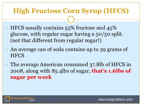 High Fructose Corn Syrup Detox Diet by Fructose Not The Enemy It S Made Out To Be