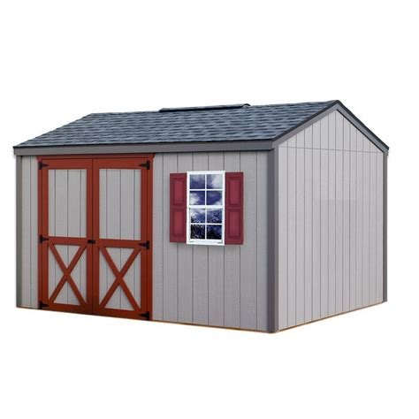best barns cypress 12 ft x 10 ft wood storage shed kit clear shop your way shopping