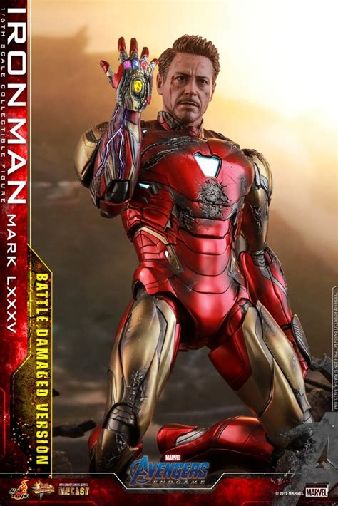 hot toys mmsd avengers endgame iron man mark