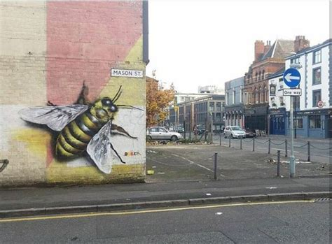 spray painters manchester there s a swarm of bees invading the northern quarter