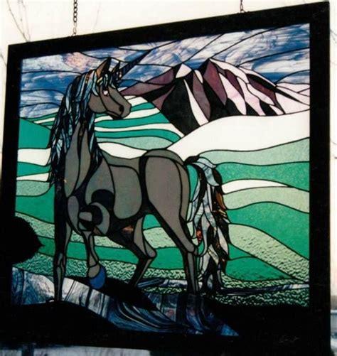 unicorn mosaic pattern 1000 images about myth unicorn stained glass on