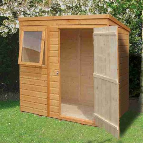 6 By 4 Shed 61 X 41 Shire Shiplap Pent Shed Shire Wooden Sheds