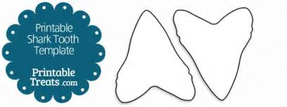 printable shark tooth printable treats