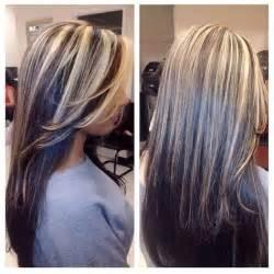 how to dye hair with black chunks 25 trending dark underneath hair ideas on pinterest