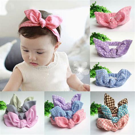 aliexpress buy baby infant turban rabbit ears aliexpress buy bow hairband turban knot