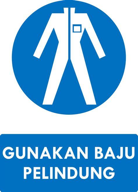 Baju Keselamatan Safety K3 Setelan Biru rambu k3 kumpulan rambu kewajiban k3 safety sign ahli k3 umum