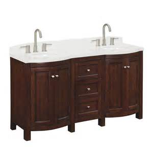 60 Inch Vanity Sink Lowes Shop Allen Roth 60 In Moravia Sink Bathroom