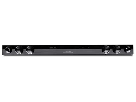 sharp 2 0 sound bar home theater system electronics woot