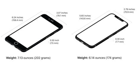 iphone 8 plus size iphone 8 plus vs iphone x which one should you buy macworld