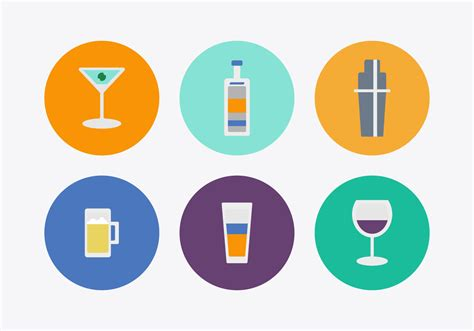 cocktail icon vector free cocktail vector icons download free vector art
