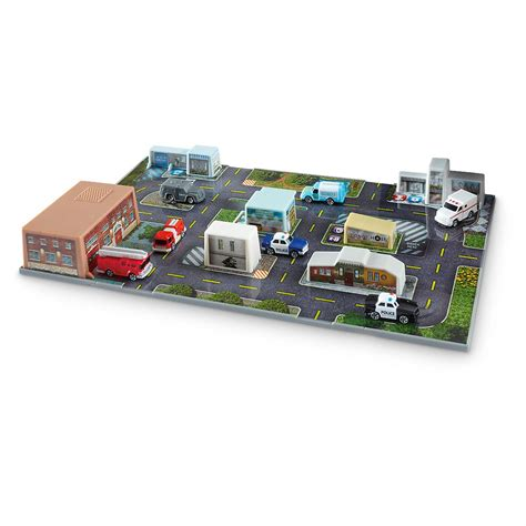 city rescue sonix city rescue deluxe playset with bonus gas station and rescue vehicles sets