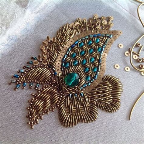 design patterns for embroidery zardosi work 2009 17 best images about zardosi work on pinterest hand