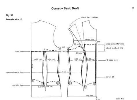 pattern drafting instructions bodice from dress block to corset corsets bodice and dresses