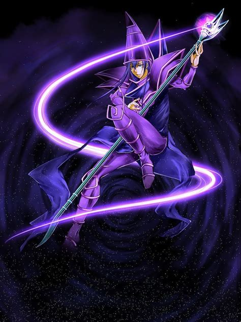 dark magician yugioh wallpaper   high quality