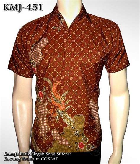 Batik Bpr Semi Sutera kemeja batik elegan semi sutera murah kemeja batik kombinasi seragam batik elegan grosir