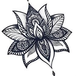 Mandala Lotus 17 Best Ideas About Lotus Mandala On