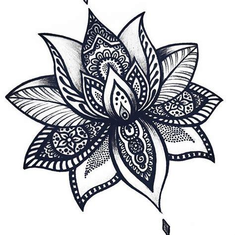 imagenes flor mandala las 25 mejores ideas sobre tatuajes de flor de loto en