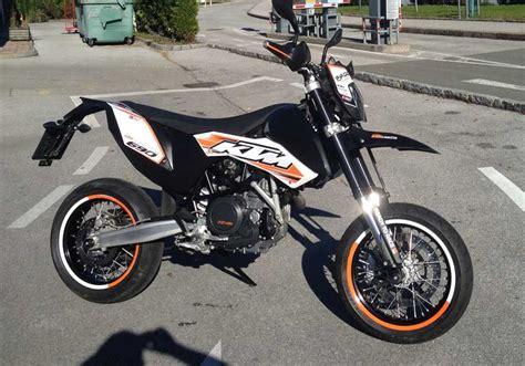 Motorrad Ktm 690 Smc by Umgebautes Motorrad Ktm 690 Smc Von Thoffy 1000ps Ch