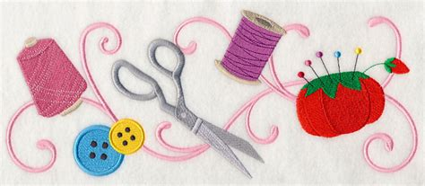Rainbow Home Decor machine embroidery designs at embroidery library