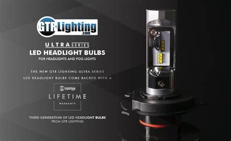gtr lighting 3 ultra gtr lighting ultra series led headlight bulbs h13 9008