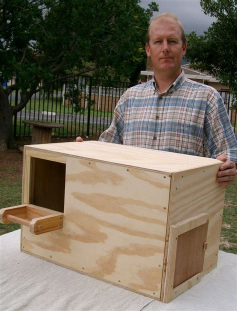 barn owl nest box kit woodworking projects plans