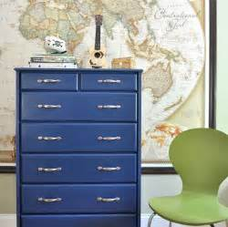 blue painted furniture craftionary