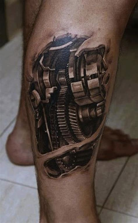 mechanical tattoos designs 148 biomechanical for geeks